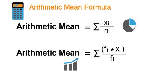 Arithmetic Mean Formula   Calculator (Examples With Excel