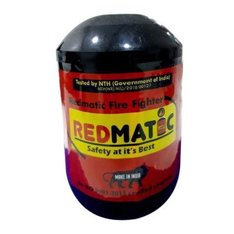 REDMATIC NTH(Govt Of India) Red Ball Fire Extinguisher