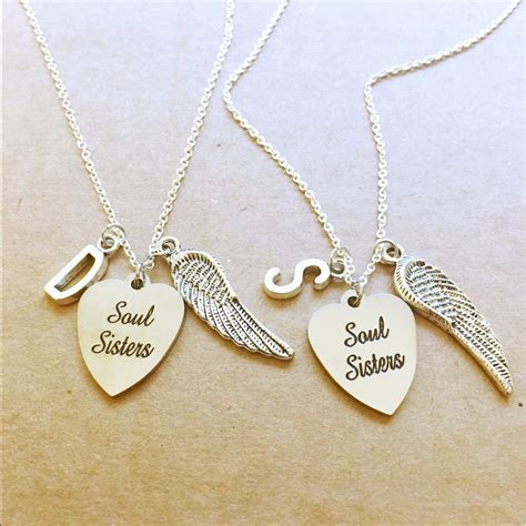 Two Soul Sisters Necklaces in 2019 | Friend necklaces