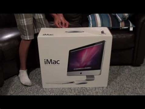 UnBoxing: July 2010: New Updated Apple iMac 21