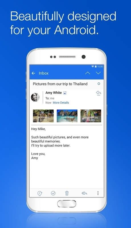 Blue Mail - Email Mailbox APK Free Android App download