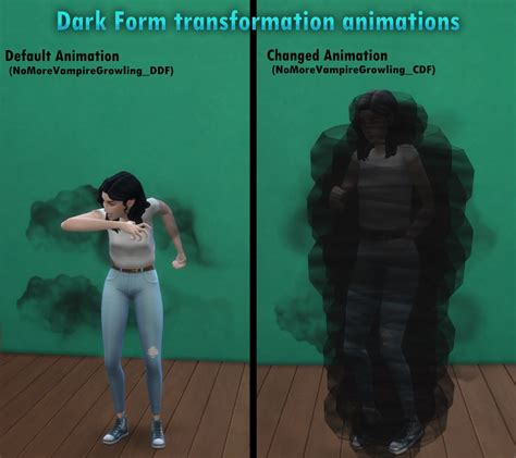 Mod The Sims - No More Vampire Growling