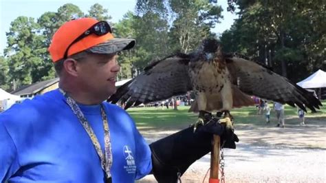 Scenes from National Hunting, Fishing Day