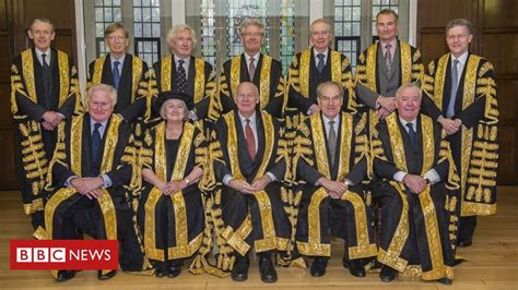The 11 Supreme Court judges who ruled on UK's Brexit