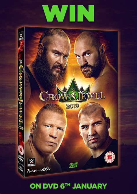 Giveaway - WWE Crown Jewel 2019 on DVD - NOW CLOSED