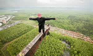 Meet the extreme Russian climbers who scale Moscow's