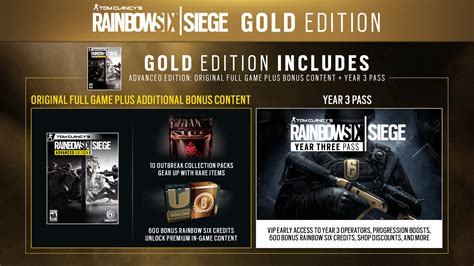 Buy Tom Clancy's Rainbow Six Siege Gold Edition for PC
