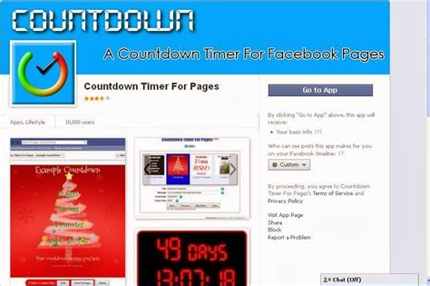 """Facebook Tips and Tricks: How to add """"Countdown Timer"""" for"""