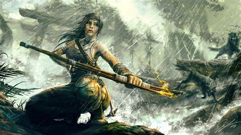 Wallpaper Rise of the Tomb Raider, Tomb Rider, Best Games