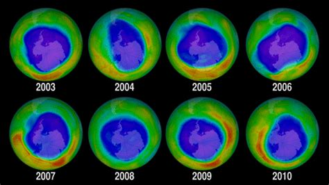 GMS: Big Ozone Holes Headed For Extinction By 2040