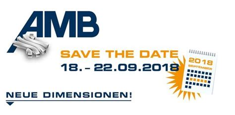 AMB 2018 in Stuttgart / Messestand in Halle 2 – Stand C46