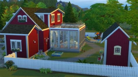 German Island Home by misschilli at Mod The Sims » Sims 4