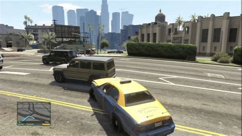GTA 5 - Mission Taxi - YouTube