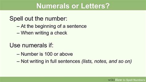 How to Spell Numbers: 15 Steps (with Pictures) - wikiHow
