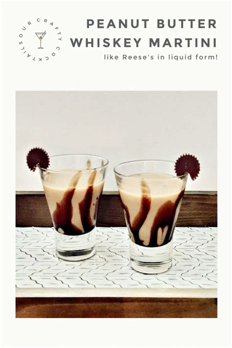 Make An Amazing Peanut Butter Whiskey Chocolate Martini in