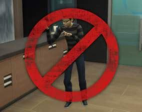 Mod The Sims - Vampire - No more growling!