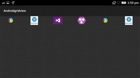 Create an Image GridView Control In Xamarin Android App