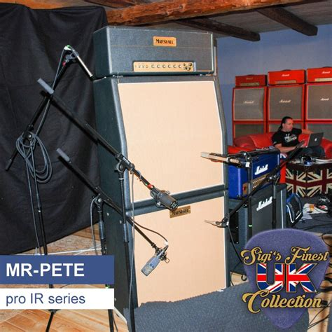 MR-PETE guitar speaker cabinet IR library, based on a